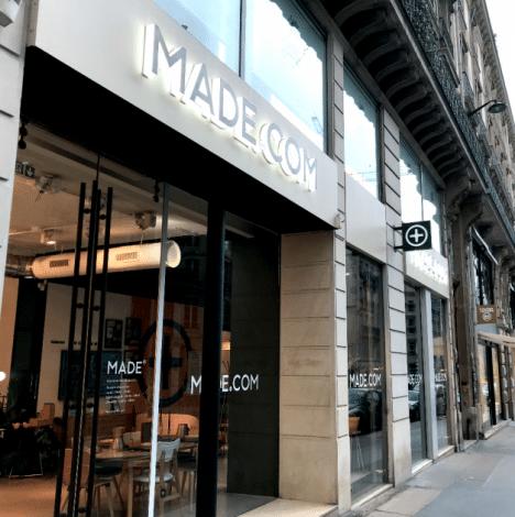 Benchmark retail : le concept store made.com